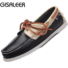 Men's 100% Genuine Leather Handmade Driving Shoes,2016 New Fashion Boat Shoe,Brand Design Flats Loafers For Men