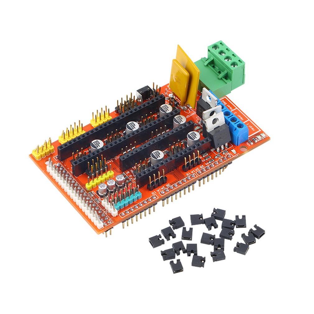 Hot Worldwide 1set 3D Printer Control Board Printer Control for RAMPS 1 4 DIY kit