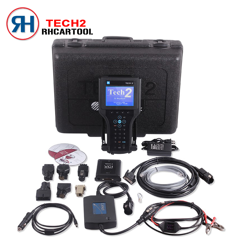 Top Quality For GM TECH2 Full Set Support 6 Software(for GM,OPEL,SAAB ISUZU,SUZUKI,HOLDEN) for GM Tech 2 diagnostic Scanner(China (Mainland))