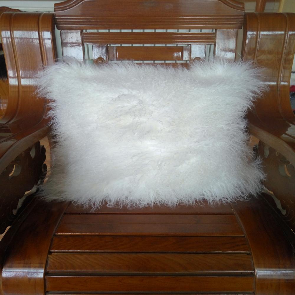 coussin de fourrure de mongolie promotion achetez des coussin de fourrure de mongolie. Black Bedroom Furniture Sets. Home Design Ideas