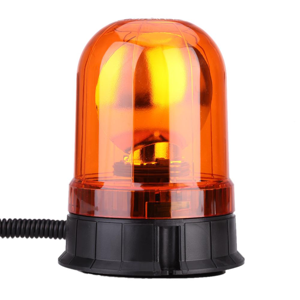 DC 12V LED Car Vehicle Amber Warning warning flash Double Light Magnetic Mount Beacon Strobe Emergency Light Alarm Lamp(China (Mainland))