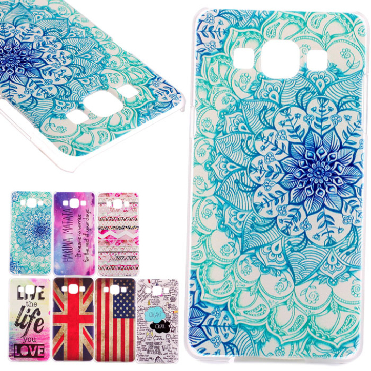 Hot Marketing Clear Painted Various Design PC Hard Back Case Cover Skin For Samsung Galaxy A3 May13(China (Mainland))