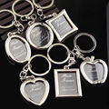 2017 Photo Picture Insert Frame Metal Keyring Lovely Key Chains Keyfob For Car Christmas Gift