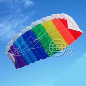 Free Shipping!!hot sale 2 m Stunt Parafoil POWER Sport Kite