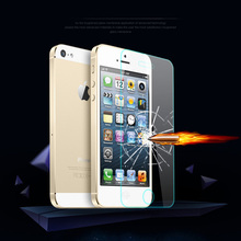 100pcs for apple iphone SE 5 5s 5c Explosion-Proof tempered glass screen protector film 0.3mm 2.5D 9H tempered glass guard ecran