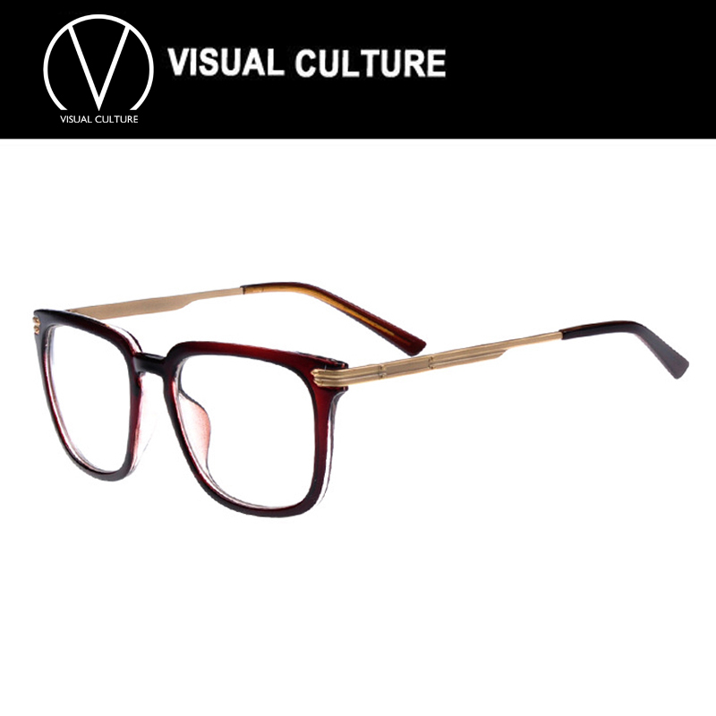 Large Thin Frame Glasses Matte Black : Black brown leopard Clear Lens Slim Large Frame Glasses ...