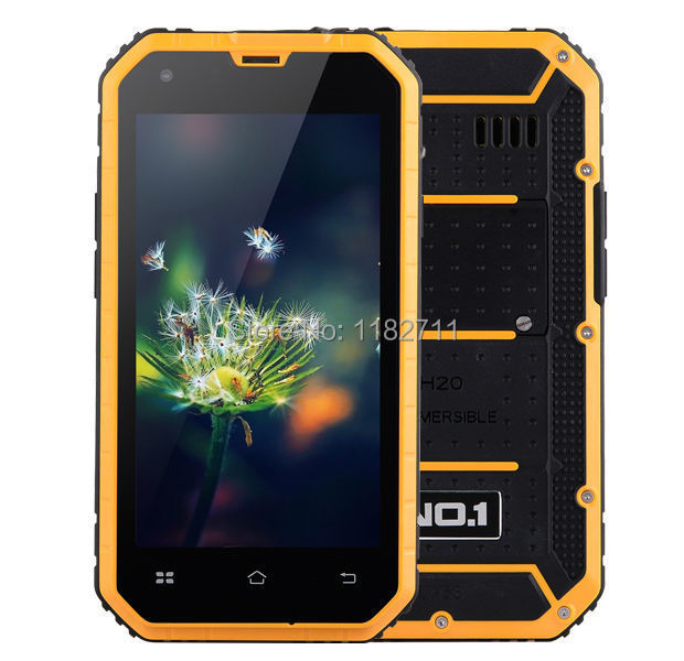 "2015 New Original NO.1 M2 4.5"" IP68 Waterproof Rugged Cell phone MTK6582 Quad Core Android 5.0 1GB RAM 8GB ROM 13MP Camera WCDMA(China (Mainland))"