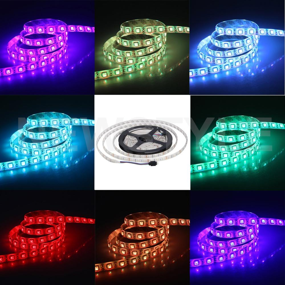 24V DC RGB 5050 Flexible LED strip Red Blue Green Yellow RGB Color Waterproof IP65 Epoxy DC 24V LED Strip For Truck(China (Mainland))