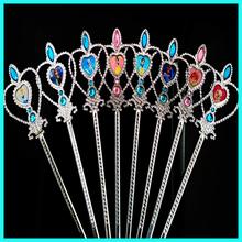 New nature fashion princess acrylic magic wand for girls