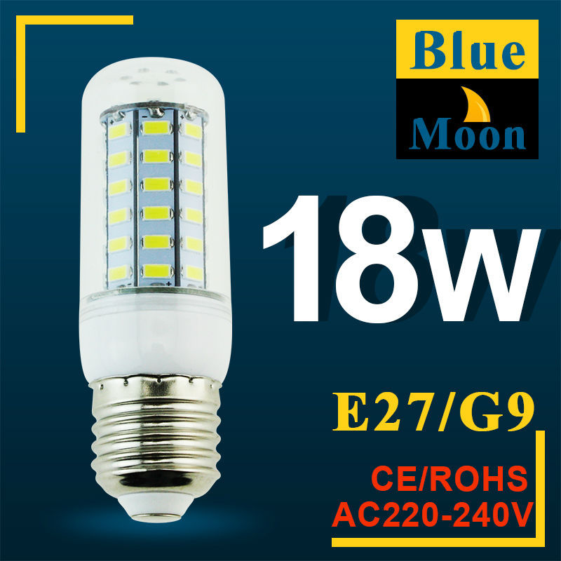 LED Corn Lamps E27 SMD5730 24Led 36Led 48Led 56Led LED Bulb Light 7w 12w 15w 18w Wall Downlight Pendant High Bright(China (Mainland))