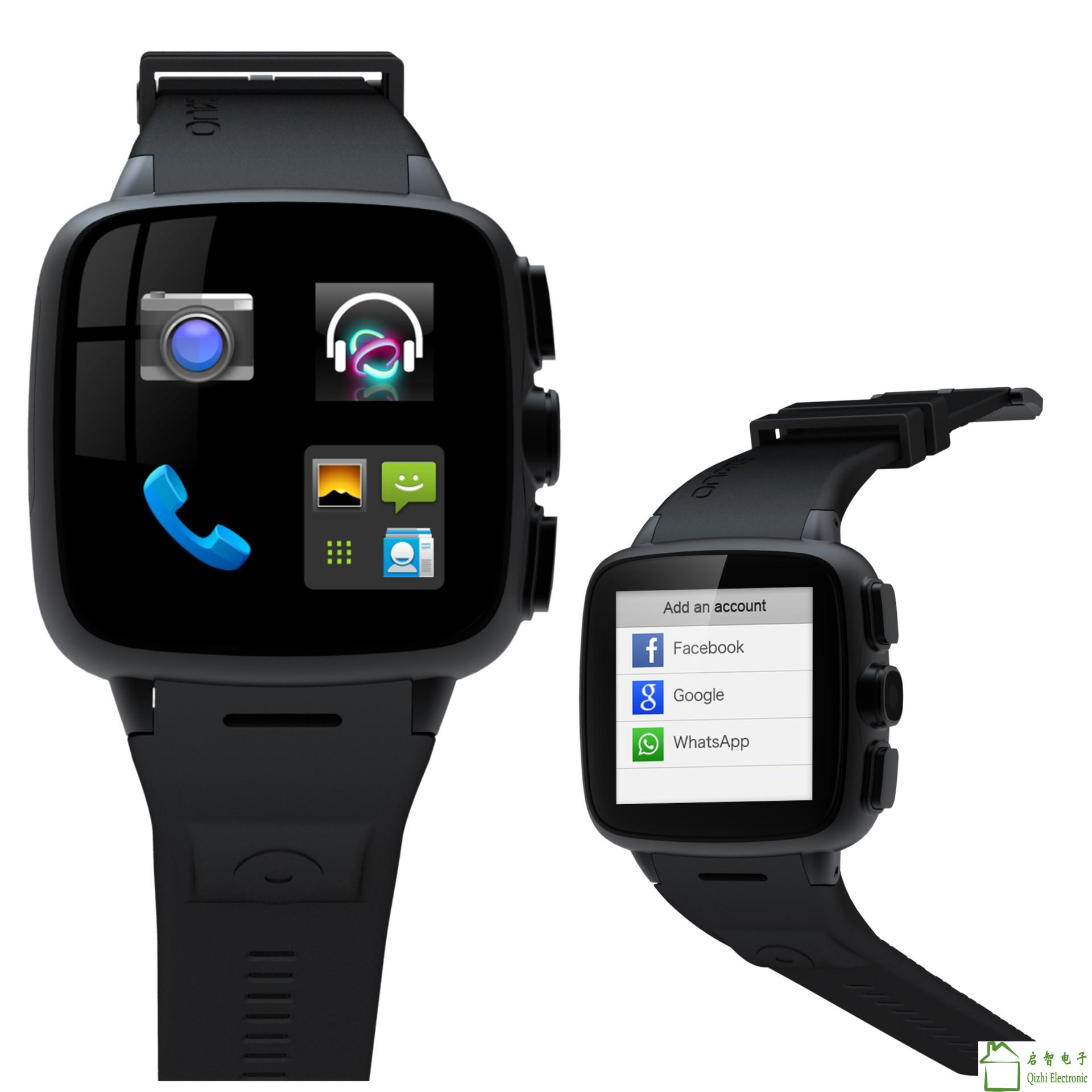 3G Waterproof Wear Smart Watch Phone Android WIFI Bluetooth Camera Dual Core Smartwatch Silicone Strap Smart phone Watch S23-2(China (Mainland))