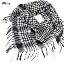 Hot Sale!!! Unisex Women Men Checkered Arab Grid Neck Keffiyeh Palestine Scarf Wrap Polyester Scarf Shawl For Men