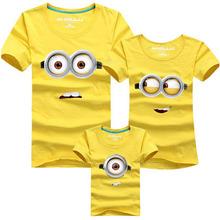 1 pcs HOT Selling 90% Cotton Shirt 11 Colors Family Set T Shirts 2016 Matching Family Clothing Men Women Kids Large T-Shirts