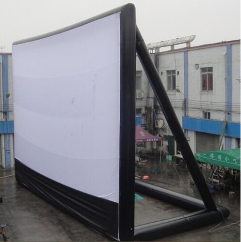 9*7m Giant Inflatable Movie Screen, Outdoor Inflatable Screen With Blower(China (Mainland))