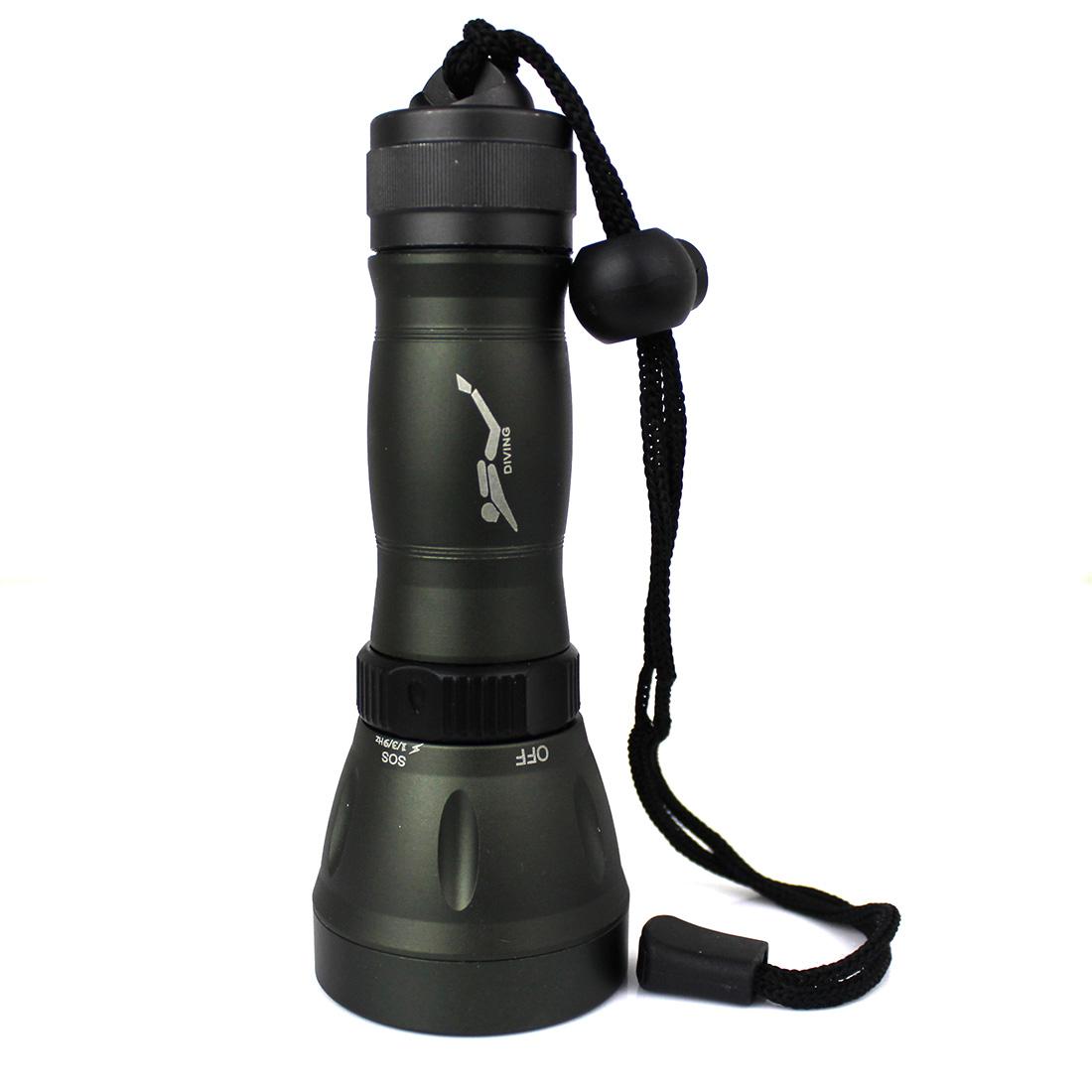 High Quality 2015 Hot 1200 Lumen CREE-T6 LED Diving Flash Flashlight Torch Light Lamp Grey 8 Modes Waterproof 20M Zaklamp 18650 <br><br>Aliexpress