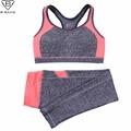 B BANG Women Sport Yoga Sets for Running Gym Sportswear Sports Top Gym Push Up Bras