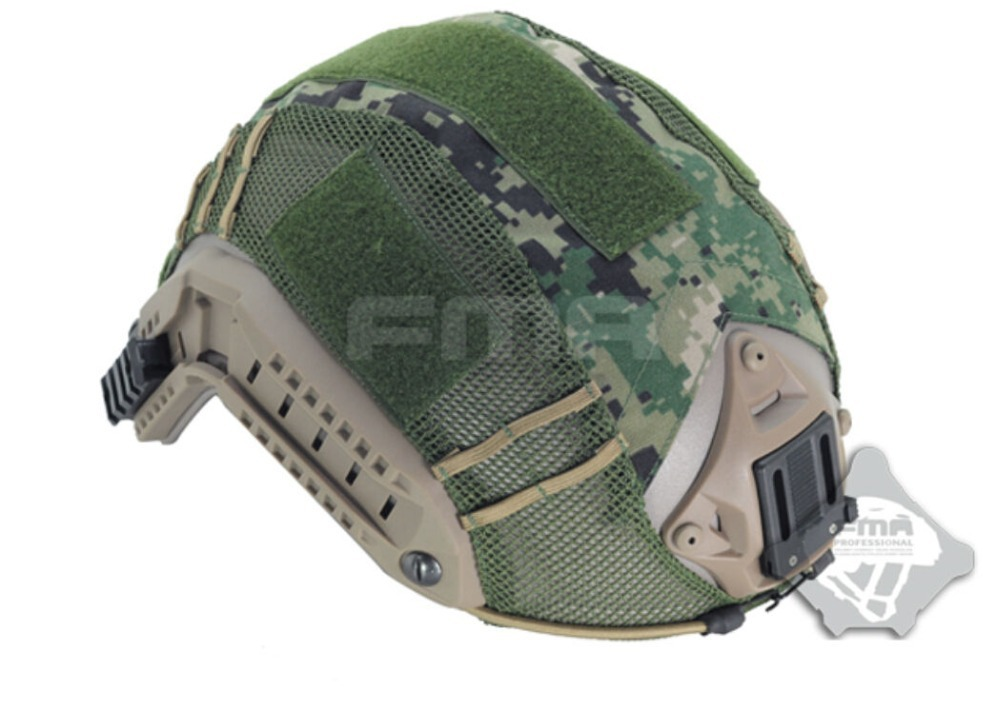 FMA Airsoft Military Outdoor Paintball Tactical Helmet Cover for Fast Helmet AOR 2 AOR2 Camo(China (Mainland))