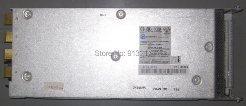 39J5273 3A62-84-1 840W Power Supply for eserver 9406 PSU working DHL EMS free shipping(China (Mainland))