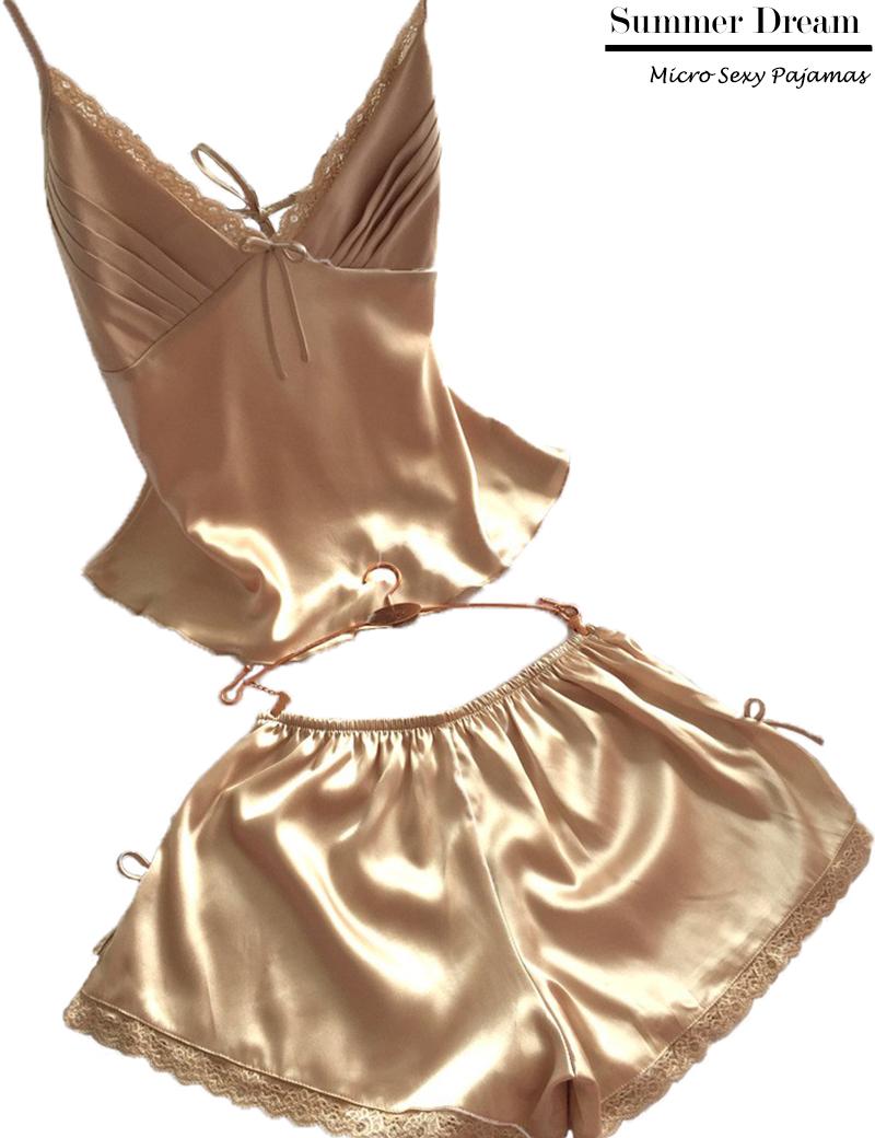 new  2015 v-neck rayon silk womens sleepwear pajamas  spaghetti strap lace sexy nightgown lounge free shippingОдежда и ак�е��уары<br><br><br>Aliexpress