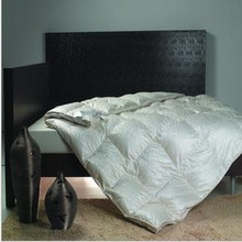 Luxury duvet shell cover 55% mulberry silk 45% cotton white jacquard canada queen super king size white color 10 pcs wholesale(China (Mainland))