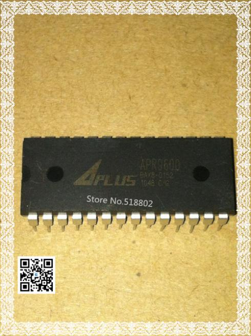 {Free Shipping} 10PSC . APR9600 DIP VOICE RECORDING & PLAYBACK DEVICE FOR SINGLE 60 SECOND MESSAGE new stock ic Free Shipping(China (Mainland))