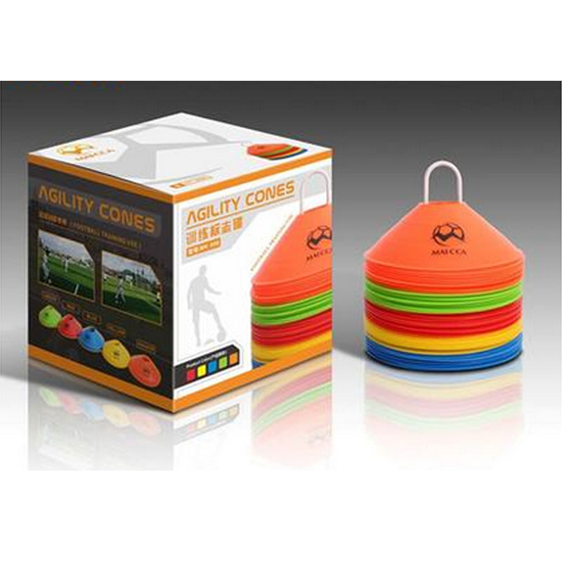 50 pack Soccer field marker disc Football training cones Sports Entertainment Sports Accessories wholesale(China (Mainland))