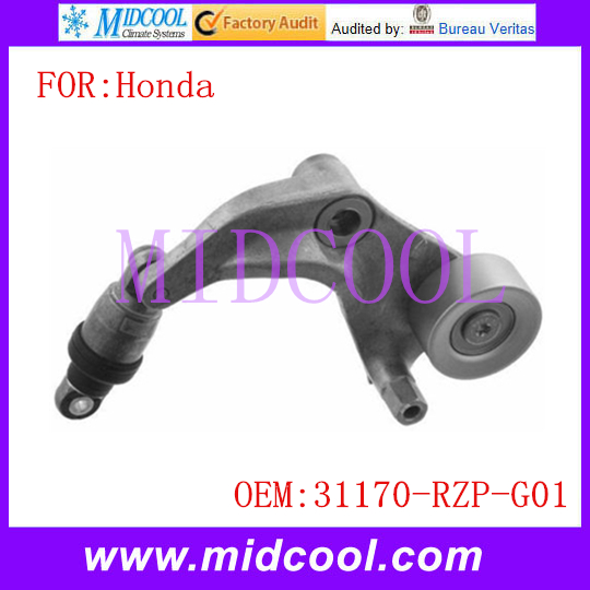 New Auto Belt Tensioner Pulley use OE NO. 31170-RZP-G01 / 31170RZPG01(China (Mainland))