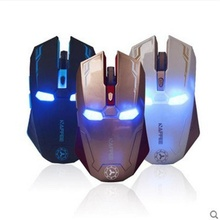 Buy 2017 New iron Man Ultrathin 2.4GHz Wireless Rechargeable 2400DPI 6 Buttons Optical Usb Professional Gaming Mouse Ergonomic for $6.44 in AliExpress store