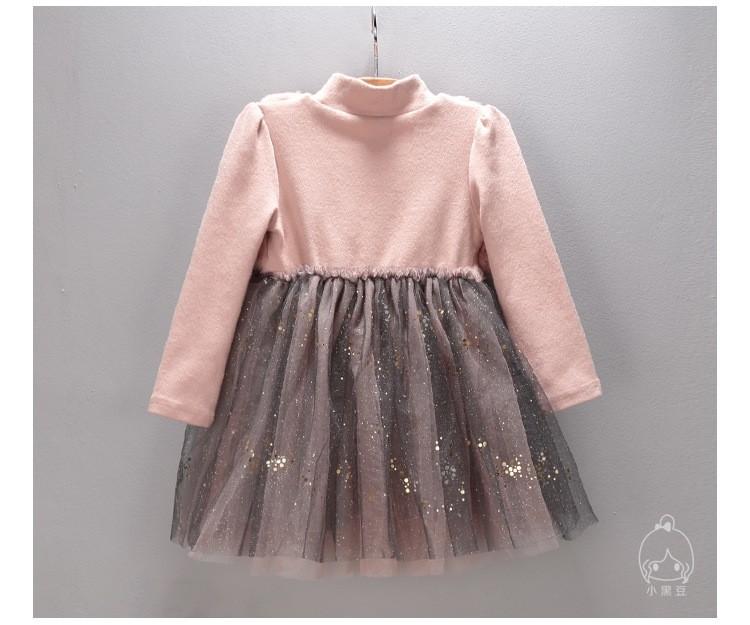 Скидки на 2016 новая весна марка платья искусственного меха детская одежда принцесса ну вечеринку стиль одежды для девочек дети infantis vestidos