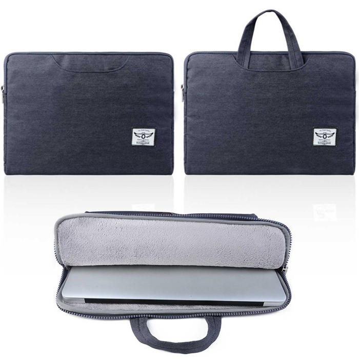 business style men Laptop handbag for macbook air 11 12 13 denim Sleeve Case Bag for 11 12 inch or 13 inch thin Notebook tablet(China (Mainland))