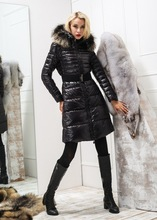 M43 Famous band Luxury jacket Mon clear women monler brand real raccon fur for woman monclare female winter down brands coat