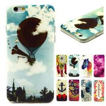 New Colorful Cartoon Case Soft Silicone Cover for iPhone 6 Plus 5.5″ Phone Case Coque Funda for iPhone6 plus Capa Para Capinha