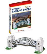 Sydney Harbour Bridge de CubicFun 3D educativo de papel y EPS modelo Papercraft adorno casero para el regalo navidad