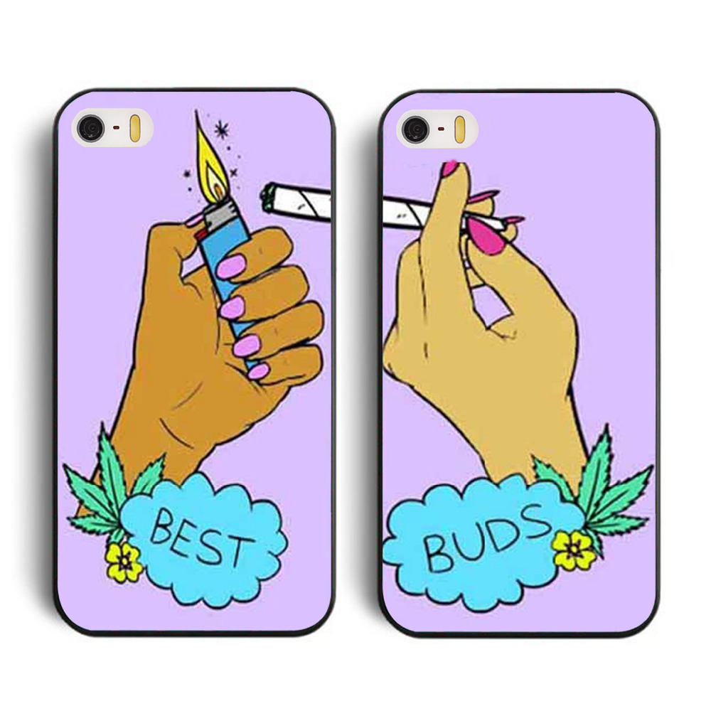 Free Shipping Best Buds Set of Friends Cell Phones Cover Case for Apple for iphone 6 and i6 4.7inch Cases i phone 6 and i6(China (Mainland))