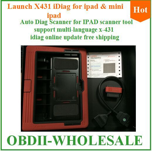2015 best quality auto scanner for IPAD and mini ipad original x431 idiag launch x-431 auto diag on promotion(China (Mainland))