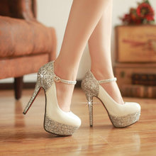 High quality! new Sexy thin High Heels Women Pumps party Wedding dress Shoes size 34-39(China (Mainland))