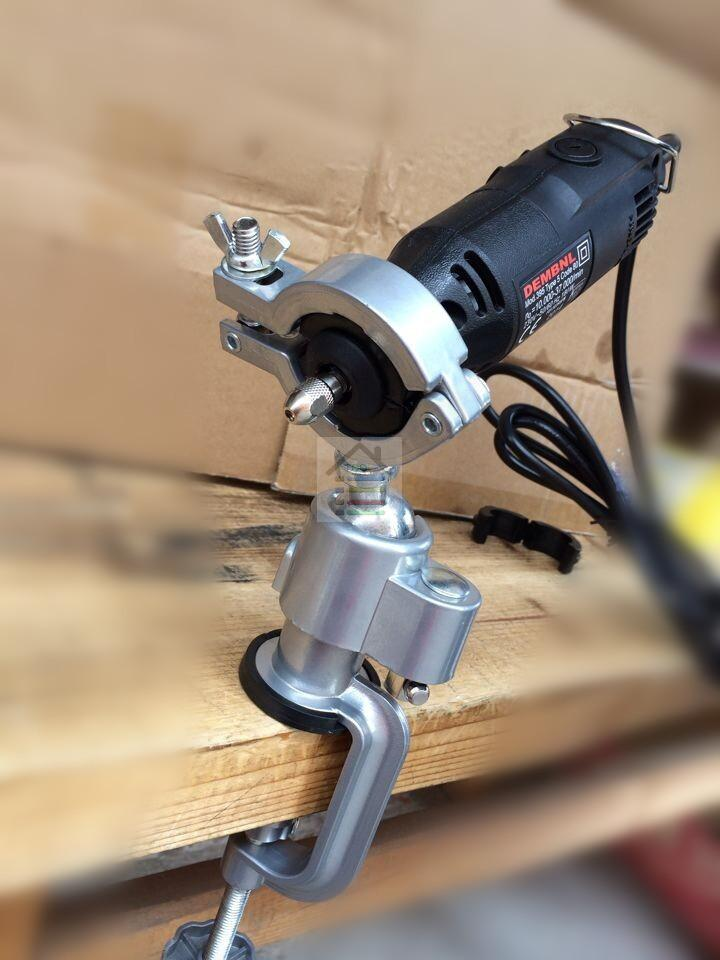 Universal Vise Clamp-on Bench Vises Vice Grinder Holder Mini Electric Drill Stand Make the Grinder Flat<br><br>Aliexpress