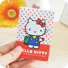 Cute Cartoon Kitty Cat Credit Card Holder/Case Card Holder.Storage Bags.Sweet Business Card Package PU Bag bank card.Organizer(China (Mainland))
