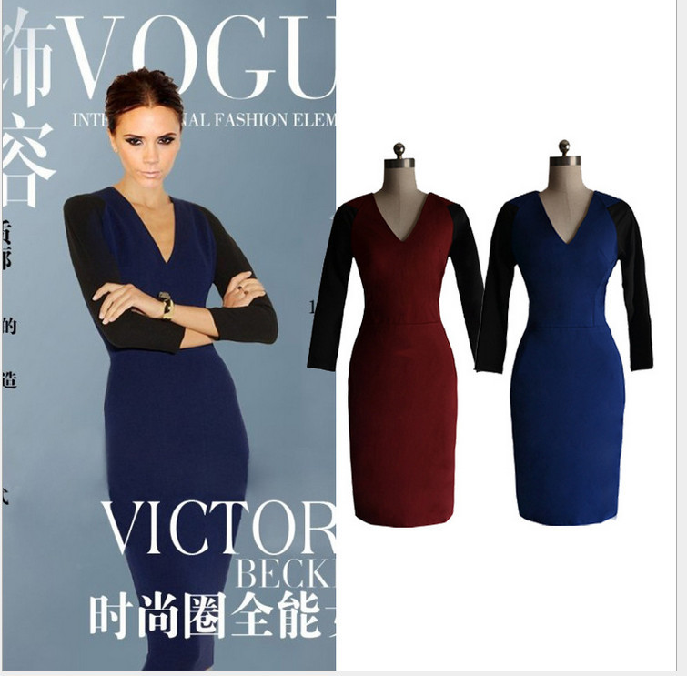 2013 new fashion autumn summer victoria beckham style