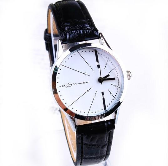 Fashion Brand Designer White/Black Leather Belt Watch Women Ladies Young Girls Analog Quartz Dress Wrist Watches Free - The Best International Trade Supplier store