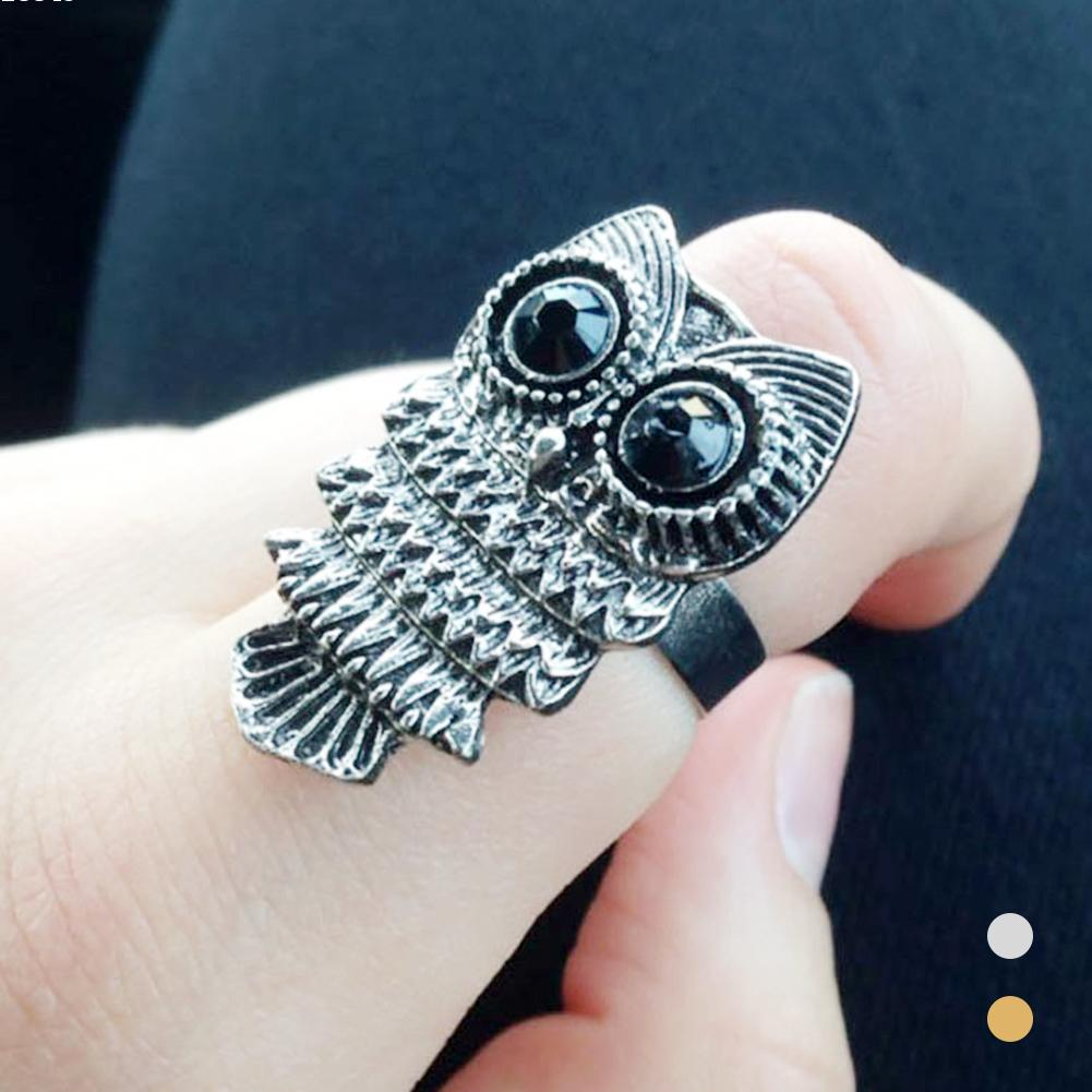 promotion owl wedding rings promotion owl wedding ring Women Rings Secret Free Shipping Ring for women Trendy Wedding Quality 5 Colors Cubic Zirconia Prong Setting Ladies Big Stone