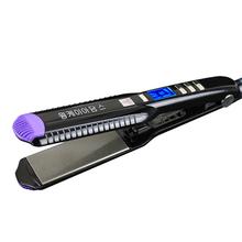2017 New Professional Hair Straightener wide plates Flat Iron Straightening Irons LCD display planchas hair iron styling tools(China (Mainland))