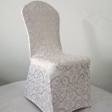 Hot Sale Printed Spandex Dining Chair Covers Party Lycra Chair Cover Cheap 4PCS/LOT (China (Mainland))