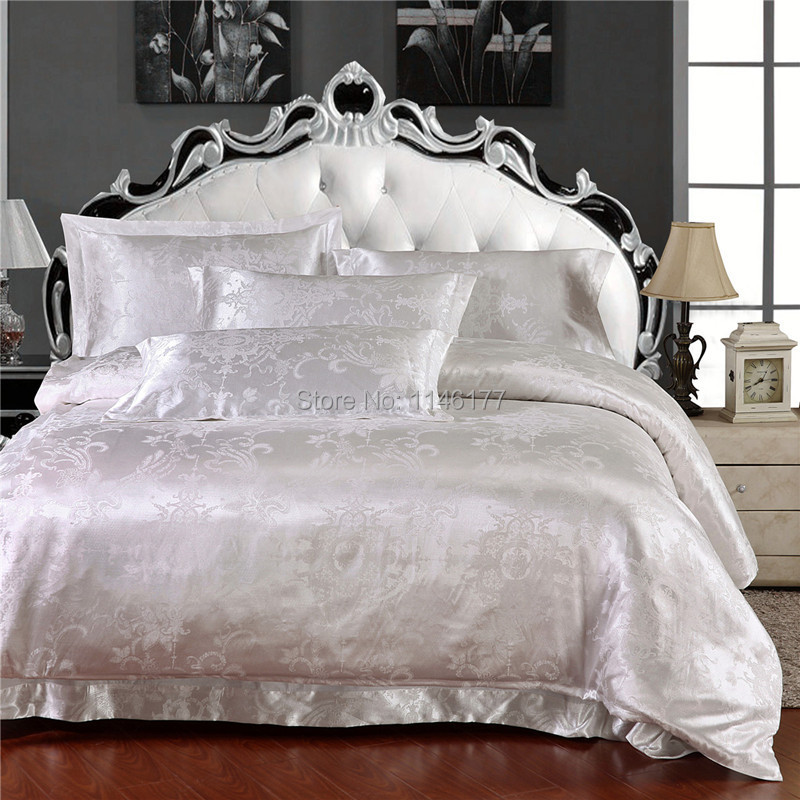 silk and cotton fabric luxury jacquard queen