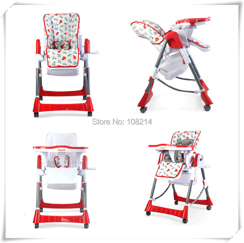 New Brand Tiny World Baby Eat Chair Portable Folding Baby Dining Chair Kids E