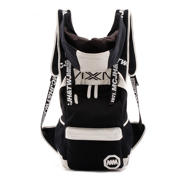 2013 personalized hooded backpack casual hat backpack 35006