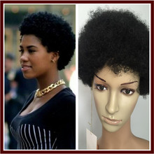 Cheap Afro Kinky Curly Synthetic Wig African American Short Wigs For Black Women Curl Female Wig