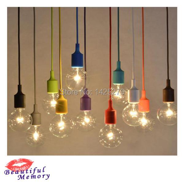 Colorful pendant lamp modern pendant light children lamp for Hanging lights for kids room