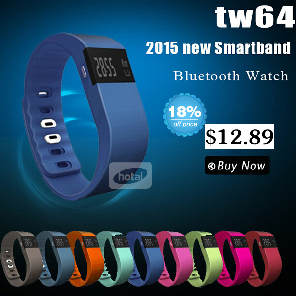 New tw64 Smartband Smart bracelet Wristband Fitness tracker Bluetooth 4.0 fitbit flex Watch for ios android better than mi band(China (Mainland))