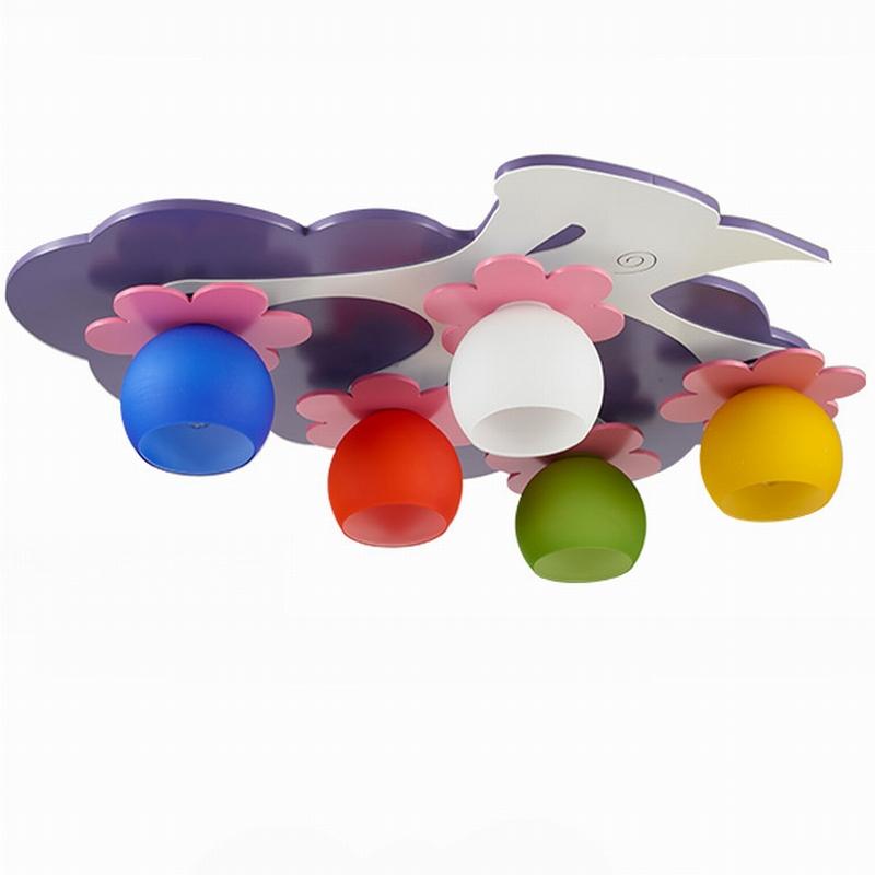 Lamp Kinderkamer Paars : Kopen wholesale purple lamp for girls room ...